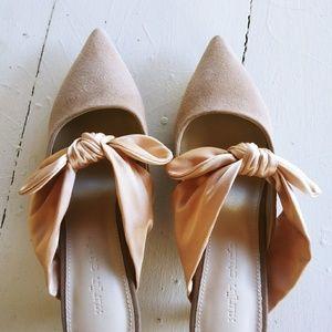 Gorgeous Slip-on Kitten Heels